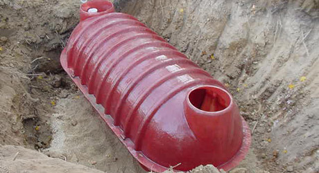 RESIDENTIAL SEPTIC TANKS - GREENTANK FIBREGLASS UNDERGROUND AND