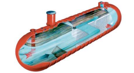 Oilwaterseparator on Underground Oil Storage Tank Diagram